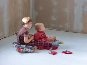 Förundran över bristen på perfektionism i barndomshemmet
