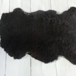 Svart, teddy (1300 kr)